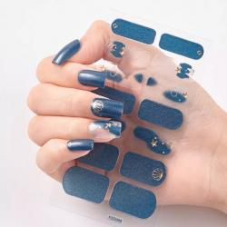 "Nail Sticker ""Blue"""