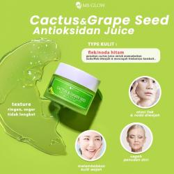 Cactus , Grape and Seed Ms glow