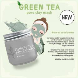 Greentea clay mask