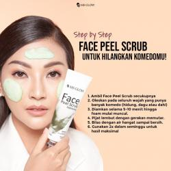 Face peel srub